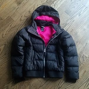 14 16 The North Face jacket down 550 fill girl
